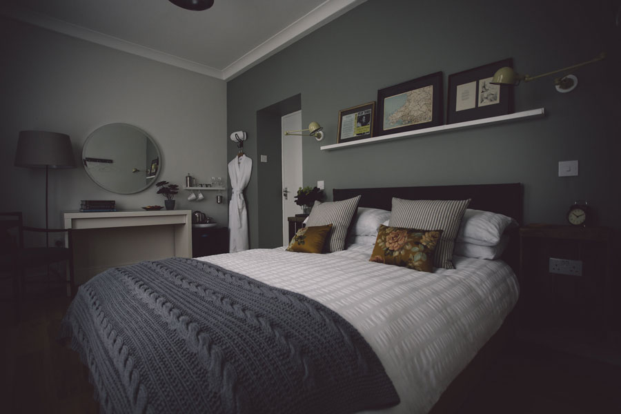 Rooms at Langland Cove Guesthouse, room 4, Small Double with Ensuite